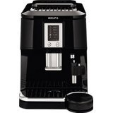 KRUPS EA8442 Falcon Fully Automatic Espresso and Cappuccino Machine with Latte Tray and Built-in Conical Burr Grinder, 58-Ounce, Black