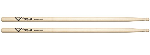 - Vater Wood Tip Sugar Maple Sweet Ride Drum Sticks, Pair
