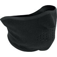 Zan Headgear Fleece Half Face Mask (BLACK)