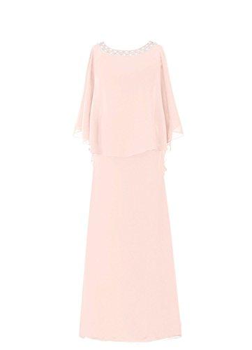 Flutter HWAN Mutter Kleid Braut Baby der Sleeve Lange Mantel Pink Frauen 6wwqPZ
