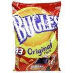 Bugles Crispy Corn Snacks Original Flavor 14.5 OZ (Pack of 16) by Bugles