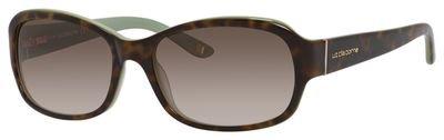 Liz Claiborne Liz Claiborne 560/S 0JGP Lime Havana JS brown gradient lens - Sunglasses Claiborne