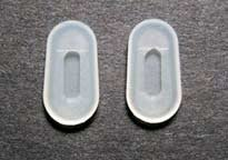 Silicone Nose Pad Covers 2 Pair