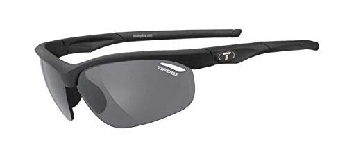 Tifosi Veloce 1040100101 Regular Interchangeable Wrap Sunglasses,Matte Black,150 mm