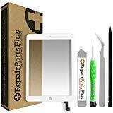 RepairPartsPlus iPad Air 2 Screen Replacement Glass Touch Digitizer Premium Repair Kit with Tools