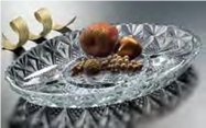 Crystal Serving Platters - Jewelite Crystal 12.25