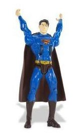 Flying Attack Superman Figure - SUPERMAN RETURNS FLYING ATTACK SUPERMAN Figure