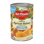 #8: Del Monte Lite Apricot Halves in Extra Light Syrup 15oz Can (Pack of 12)