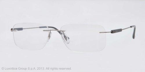 Ray Ban Optical Men\'s Rx8712 Titanium Frame Titanium Eyeglasses ...
