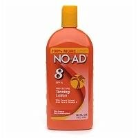 NO-AD Protective Tanning Lotion, SPF 8, 16 fl oz