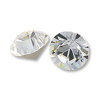 Swarovski 1028 3mm Crystal Xilion Chatons (Package of (Foil Bicone)