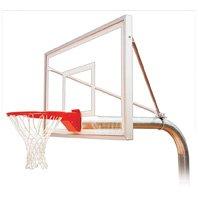 最初チームRuffneck選択steel-acrylic in ground固定高さバスケットボールsystem44 ;ゴールド B01HC0E4KC