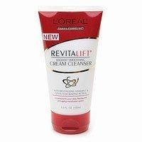 L'Oréal Paris Revitalift Nettoyant Crème Lissante Radiant, 5-Fluid Ounce