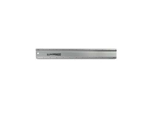 Alumicolor Alumicutter, Safety Ruler and Straight Edge, Aluminum, 36 inches, Silver (1316-1)