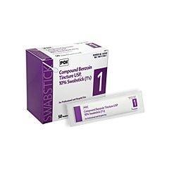 Compound Benzoin Tincture U.S.P. Swabsticks - - Box of 50