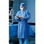 Surgeon Scrub - Halyard Health Procedure Gown, Large, Case of 60