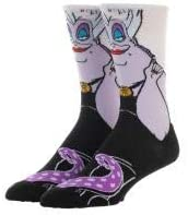 Ursula Socks Disney Villains Accessories Ursula Apparel Disney Villains Socks