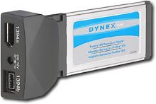 Dynex Firewire 800 Expresscard Adaptor