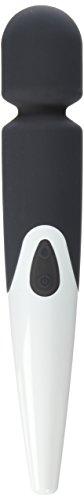 Shibari Halo 10x , Wireless, Waterproof, Power Wand Massager (Black)