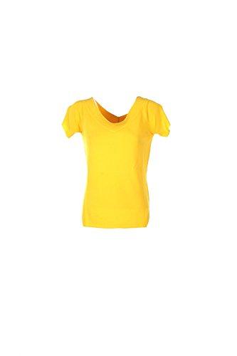 T-shirt Donna Anis M Giallo 739007 Primavera Estate 2017