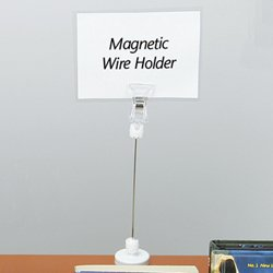 Amazon Com Decorative Sign Holders Wire Sign Holder Magnetic Base