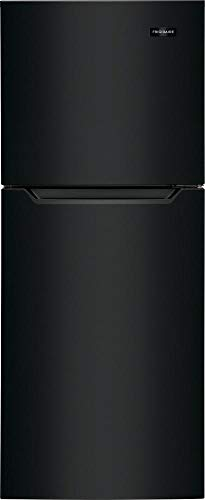 (Frigidaire FFET1222UB 24 Inch Freestanding Top Freezer Refrigerator with 11.6 cu. ft. Total Capacity, in Black)