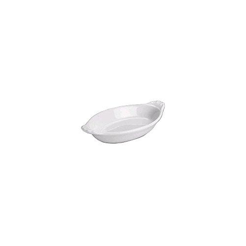 Hall China 528-WH White 12 Oz. Welsh Rarebit Dish - 24 / CS