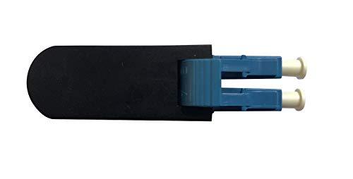 LC/UPC Fiber Optic Singlemode Single Mode 9/125 Loopback Loop Back Adapter Adaptor