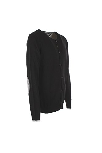 Cardigan Uomo Yes-zee L Nero M836 Mp00 Autunno Inverno 2017/18
