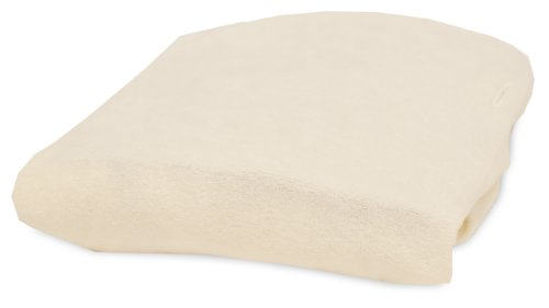Rumble Tuff Bamboo Viscose Terry Changing Pad Cover, Ecru (Pad Baby Changing Terry)