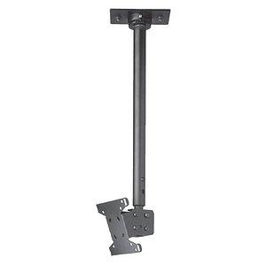 Peerless Lcd Ceiling Mount Lcc-36 - Mounting Kit ( Extension Column, Ceiling Mount, Ceiling Plate, Adapter Plate ) For Lcd Tv - Black - Screen Size: 13