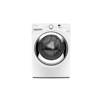 Whirlpool WFW87HEDW Duet 4.3 Cu. Ft. White Stackable With Steam Cycle Front Load Washer - Energy Star