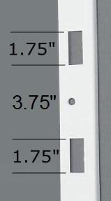 Door Jamb Pro - 48'' Door Frame Reinforcement Strike Plate; Fits 1 3/4'' Thick Entry Doors by Door Security Pro (Image #2)