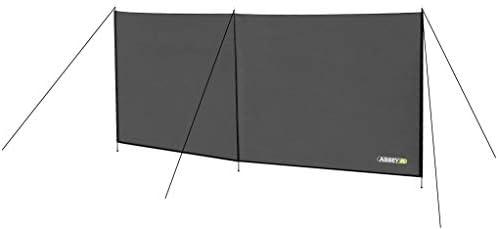 Abbey Camp Unisex 21TE Polyester Windschutz, grau, one Size