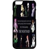 Akame Ga Kill Night Raid 3 Case / Color Black Plastic / Device iPhone 6 Plus/6s Plus