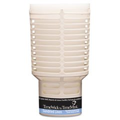 TimeMist TimeWick Dispenser Refill, Sundried Linen, 6/Carton 1043698 by Timemist