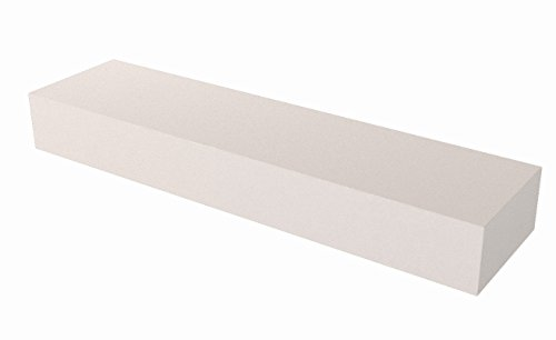Bon 14-831 8-Inch by 2-Inch by 1-Inch 60 Grit Aluminum Oxide Tile Setters Stone and Rub Brick, White