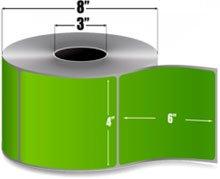 (Datamax Pioneer 420970-GRN Label, Thermal Transfer, Perforated, 3