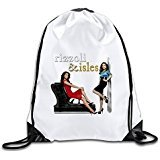 Discovery Wild Rizzoli & Isles Polyester Drawstring Backpack Rucksack Shoulder Bags Gym Bag Home Travel Sport Storage Use