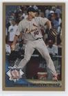 Adam Wainwright #1981/2,010 (Baseball Card) 2010 Topps Update Series - [Base] - Gold - Us 125