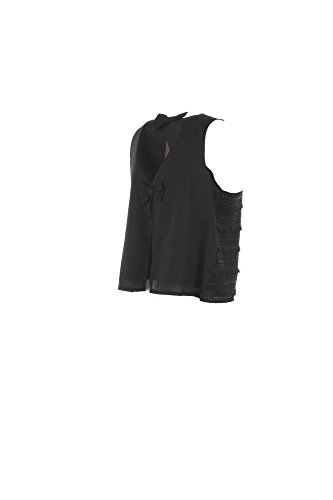 Estate Top 2018 Primavera Kaos Nero Donna 42 Kpjel008 HTwxYSqd