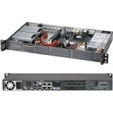 (SUPERMICRO SuperChassis 504-203B 1U - 1 x Bay - 1 x 200 W - Mini ITX Motherboard Supported / CSE-504-203B /)