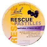 Bach Rescue Remedy Pastilles Black Currant 50 grams - 3PC