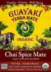 Guayaki Yerba Mate Chai Spice ( 6x16 CT) (Visual Mate)