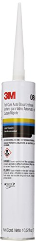 3M 08690 Fast Cure Auto Glass Urethane Cartridge - 10.5 fl. oz.