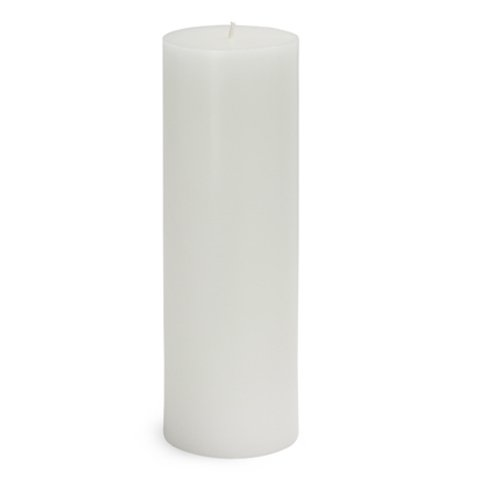 White Citronella Pillar Candle product image
