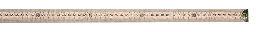 Westcott Wooden Meter Stick With Brass Tips, 39 1/2""