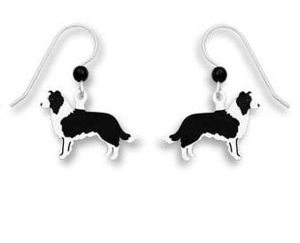 Sienna Sky Border Collie Dog Earrings 1589