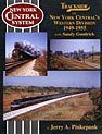 Trackside on New York Central's Western Division, 1949-1955 with Sandy Goodrick, Jerry A. Pinkepank and Sanford Goodrick, 1582481024