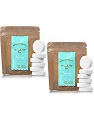 Bath and Body Works 2 Pack Focus- Eucalyptus & Tea In Shower Steamer. 0.8 Oz.